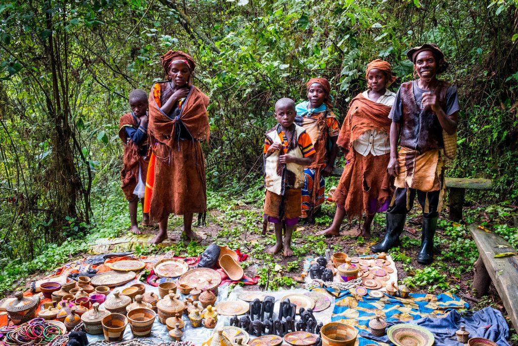 Bwindi Batwa Pygmy Buniga Forest Trail
