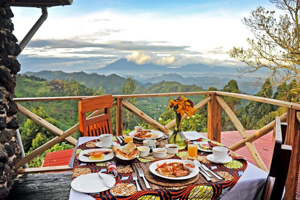 Meals at Nkuringo Bwindi Dining
