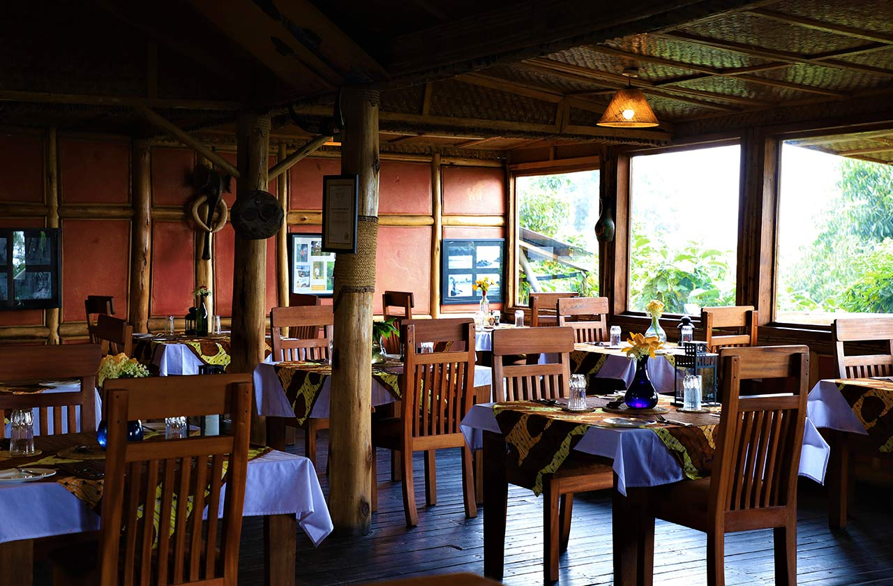 Dining in Bwindi Restaurant