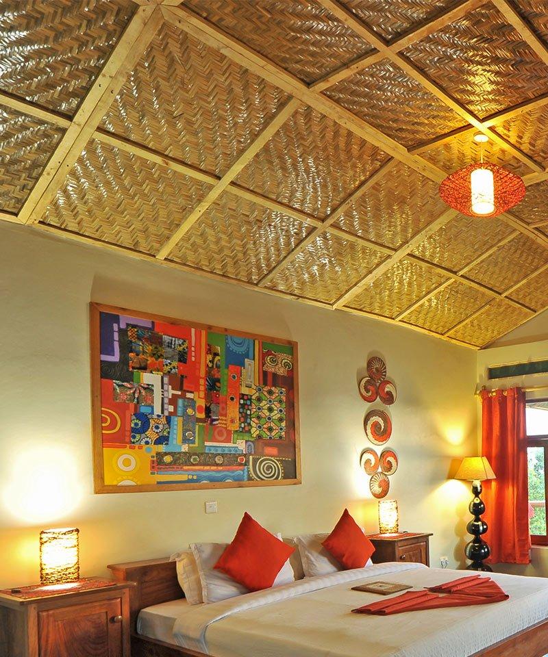 Nkuringo Lodge Rooms