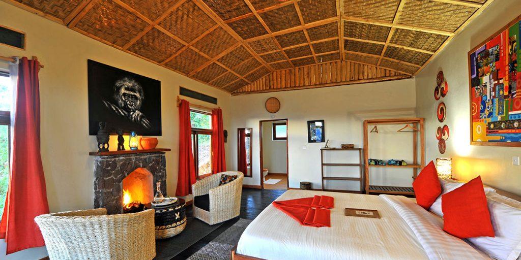 Nkuringo Lodge Bedroom