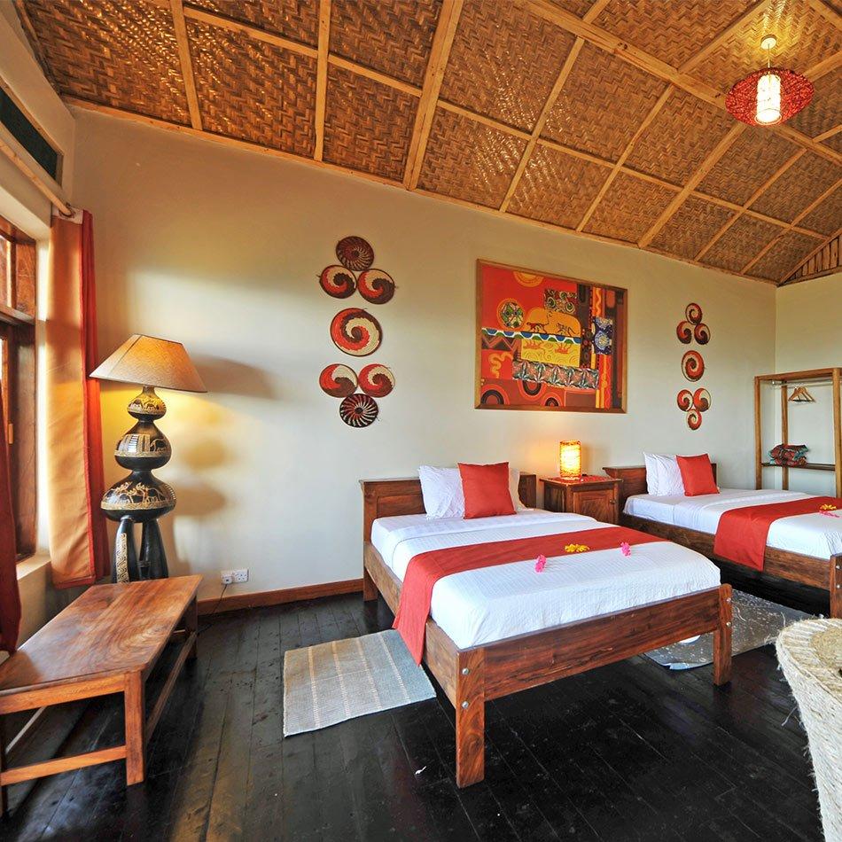 two bedroom villas
